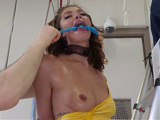 Rough painful anal, piss drinking, and filthy ass to mouth