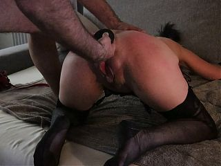Caly plugged and flogged